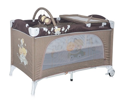 Кошара LORELLI TRAVEL KID 2 нива - BEIGE TRAVELING 10080221621